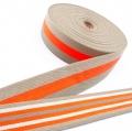 Taschengurt Gürtelband beige neon orange