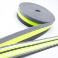 Taschengurt Gürtelband grau neon gelb