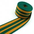 Gurtband grün gelb 50mm