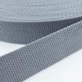 Gurtband grau 40mm