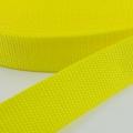 Gurtband zitronengelb 20mm
