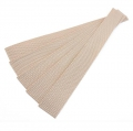 5er Pack Gurtband-Zuschnitt 30cm beige 30mm