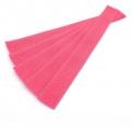 5er Pack Gurtband-Zuschnitt 30cm pink rosa 30mm