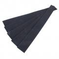 5er Pack Gurtband-Zuschnitt 30cm schwarz 30mm