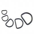 D-Ring Set schwarz 2 x 5 Stück