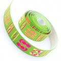 4m Gummiband 25mm Flip Flop grün