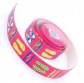 4m Gummiband 25mm Flip Flop pink
