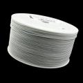 50m Hutgummi weiß 1mm