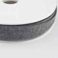 Jersey-Schrägband 20mm dunkelgrau meliert