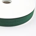 Jersey-Schrägband 20mm dunkelgrün
