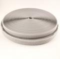 25m Klettband 20mm hellgrau