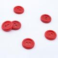 10 Knöpfe rot 11,6mm