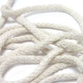 50 Meter Baumwollkordel milchweiß 5 mm