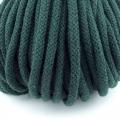 Baumwollkordel dunkelgrün 5mm mit Kern