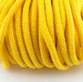 Baumwollkordel butterblume gelb 5mm mit Kern