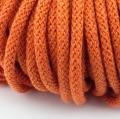 Baumwollkordel orange 5mm mit Kern