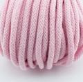 Baumwollkordel rosa 5mm mit Kern