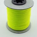 100m Schmuckschnur neon gelb 1,5mm