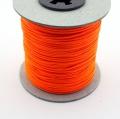 100m Schmuckschnur neon orange 1,5mm