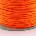 100m Kordel PES neon orange 4mm