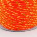 100m Kordel PES neon-orange neon-gelb 4mm