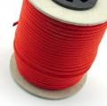 50m Polyesterkordel dunkelorange 2,5mm