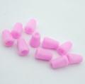 10 Stück Kordel-Endstück rosa
