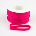 Flachkordel 10mm Polyester pink