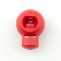 Kordelstopper 18mm rot