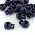 Kordelstopper dunkelblau rund