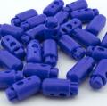 10er Pack Kordelstopper blau