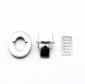 Taschenverschluss silber 27mm x 30mm