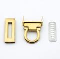 Taschenverschluss gold 17mm x 45mm