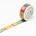 7m Washi Tape 15mm Kids Alphabet A-M