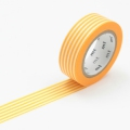 10m Washi Tape 15mm Border Yellow