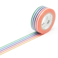 7m Washi Tape 15mm Kids Colorful Border