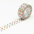 7m Washi Tape 15mm Kids Colorful Dot