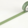 10m Washi Tape 15mm Diamond Viridian