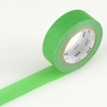 10m Washi Tape 15mm Green