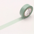 10m Washi Tape 15mm Hasen Green