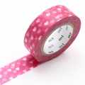 10m Washi Tape 15mm Heart Spot