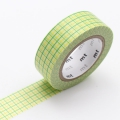 10m Washi Tape 15mm Hougan Lemon x Kusa
