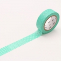 10m Washi Tape 15mm Line Pattern Green