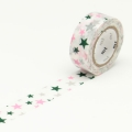 7m Washi Tape 15mm Kids Motif Star
