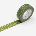 10m Washi Tape 15mm Nejiriume Uguisu
