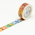 7m Washi Tape 15mm Kids Number