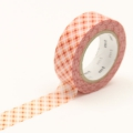 10m Washi Tape 15mm Oboro Dot Fire