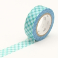 10m Washi Tape 15mm Oboro Dot Water