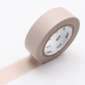 10m Washi Tape 15mm Pastel Brown
