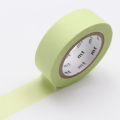10m Washi Tape 15mm Pastel Lime